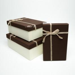 Коробка подарочная 3 шт. 5-0767
