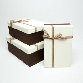 Коробка подарочная 3 шт. 5-0766