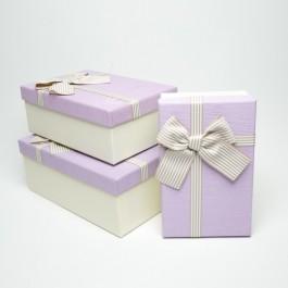 Коробка подарочная 3 шт. 5-0758