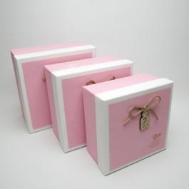 Коробка подарочная 3 шт. 5-0725