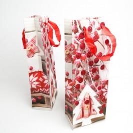 Новорічні пакети 12 шт. (36 x 13 x 8 см.) 5-6977