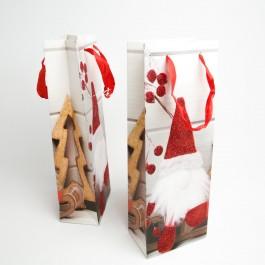 Новорічні пакети 12 шт. (36 x 13 x 8 см.) 5-6976