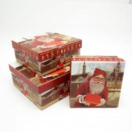 Коробки новорічні 3 шт. 5-1014