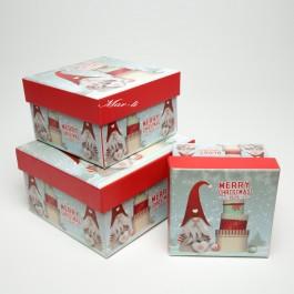 Коробки новорічні 3 шт. 5-0831