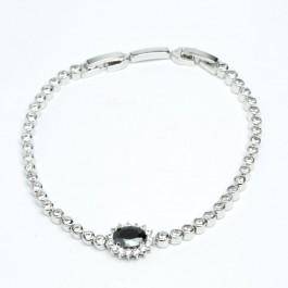 Браслет з церконітами XUPING Silver (18 + 2.2 см.) 511902