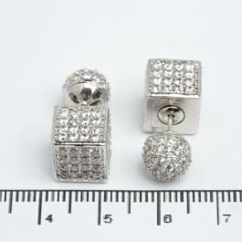 Сережки XUPING Silver (Ø 1.6 см.) 511535