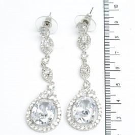 Сережки XUPING Silver (д. 6.5 см.) 511532