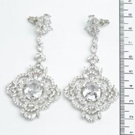 Сережки XUPING Silver (7 х 3.3 см.) 511531
