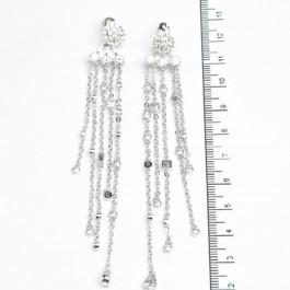 Сережки XUPING Silver (10.3 х 1.3 см.) 511530