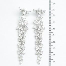 Сережки XUPING Silver (8.5 х 1.6 см.) 511529