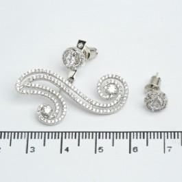 Сережки джекети XUPING Silver 511527