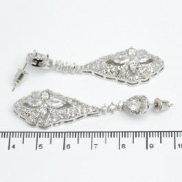 Сережки XUPING Silver (5.3 х 1.6 см.) 511526