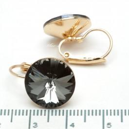 Сережки XUPING Gold (серый) 509714