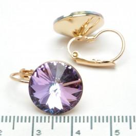 Сережки XUPING Gold (перламутровый с фиолетовым) 509713