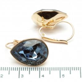 Сережки XUPING Gold (синий) 509704