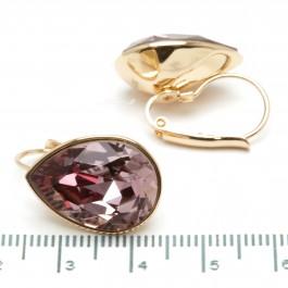 Сережки XUPING Gold (малиново-бордовый) 509703