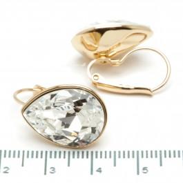 Сережки XUPING Gold (белый) 509701