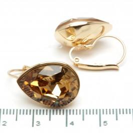 Сережки XUPING Gold (коричневый) 509700