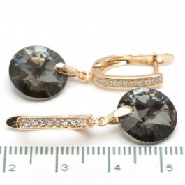Сережки XUPING Gold (серый) 509303