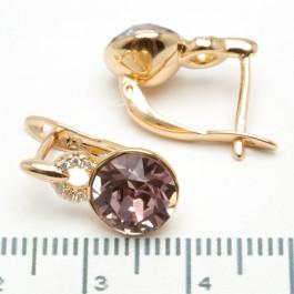 Сережки XUPING Gold (фиолетовый) 509294