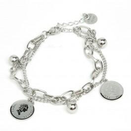 Браслет XUPING Silver (16.5 + 4 см.) 205679