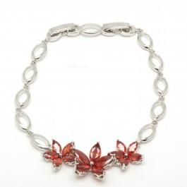 "Браслет XUPING Silver ""красный"" (18 + 2 х 0.5 см.) 204369"