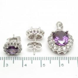 """Набори XUPING Silver """"фіолетовий"""" 204354"""