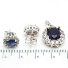 "Набори XUPING Silver ""синій"" 204352"