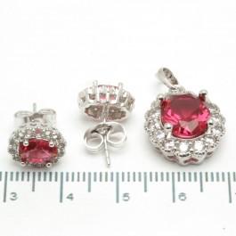 "Набори XUPING Silver ""червоний"" 204351"