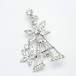 Брошки XUPING Silver (4.5 х 2.5 см.) 203782