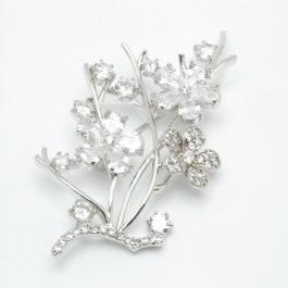 Брошки XUPING Silver (6 х 3 см.) 203776