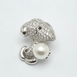Брошки XUPING Silver (2.2 х 1.7 см.) 203773