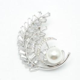 Брошки XUPING Silver (4.5 х 3 см.) 203772