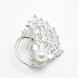 Брошки XUPING Silver (4 х 3 см.) 203770