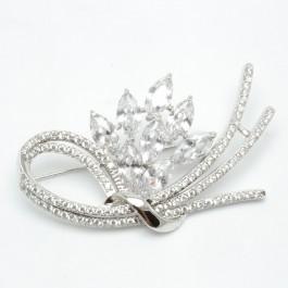 Брошки XUPING Silver (5.5 х 3 см.) 203769