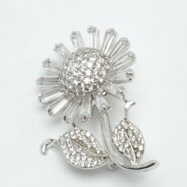 Брошки XUPING Silver (5 х 3.5 см.) 203768