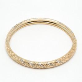 Браслет XUPING Gold (Ø 6.2 х 0.6 см.) 507675