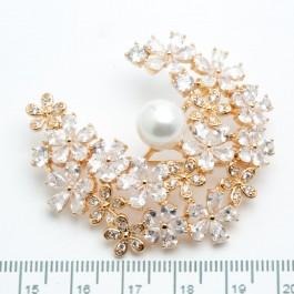 Брошки XUPING Gold (5 х 4.5 см.) 510764