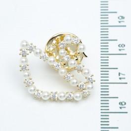 Брошки XUPING Gold (2.3 х 2.5 см.) 510923