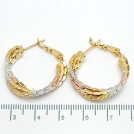 Сережки XUPING Gold (Ø 2.5 см.) 508685