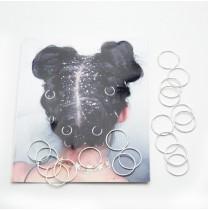 Пирсинг для волос 20 шт. (Ø 1.4 см.) 5-6168