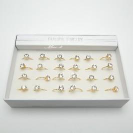Детские кольца 24шт(размер 16, 17) 5-0640
