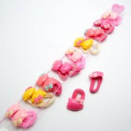 Резинки детские 20 шт. (3.2 х 2.8 см.) 5-6847