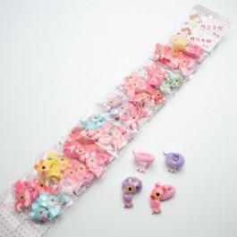 Резинки детские 40 шт. (3.2 х 2 см.) 5-6840